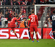 Thomas Mueller of Bayern Munich sees his penalty saved during the UEFA Champions League match at Allianz Arena, Munich<br /> Picture by EXPA Pictures/Focus Images Ltd 07814482222<br /> 03/05/2016<br /> ***UK &amp; IRELAND ONLY***<br /> EXPA-EIB-160503-0066.jpg
