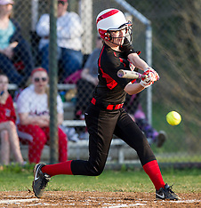04/17/15 HS Softball Bridgeport vs. Robert C. Byrd