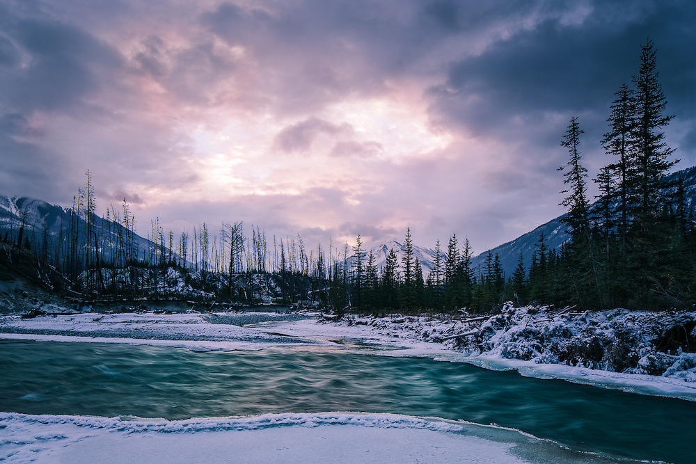 Winter in Kootenay National Park, Nov 2014