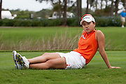 November 18, 2011: Hee-Young Park (South Korea) waits to tee it up on the 18th during second round golf action from the CME Group Titleholders held at The Grand Cypress Resort, Orlando, Fla.