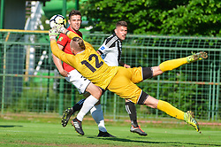 football match between ND Mura and ND Tabor Sezana in Round #28 of 2.SNL 2017/18 on May 13, 2018 in Mestni stadion Fazanerija , Murska Sobota , Slovenia. Photo by Mario Horvat / Sportida