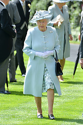 HM THE QUEEN at the first day of the 2014 Royal Ascot Racing Festival, Ascot Racecourse, Ascot, Berkshire on 17th June 2014.