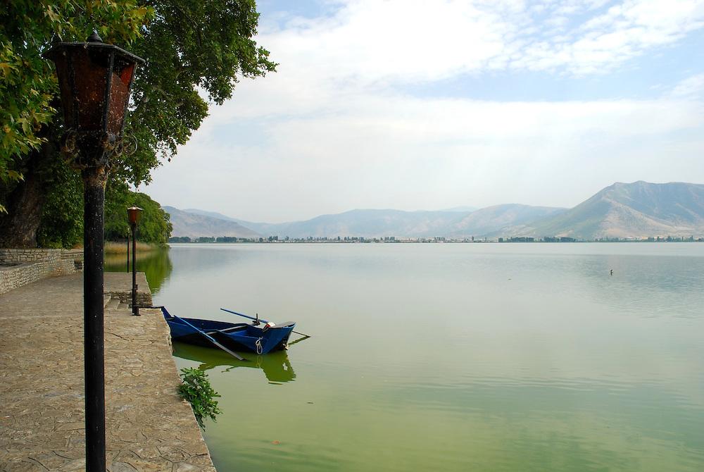 Lake Kastoria, Kastoria Prefecture, West Macedonia, northwestern Greece.