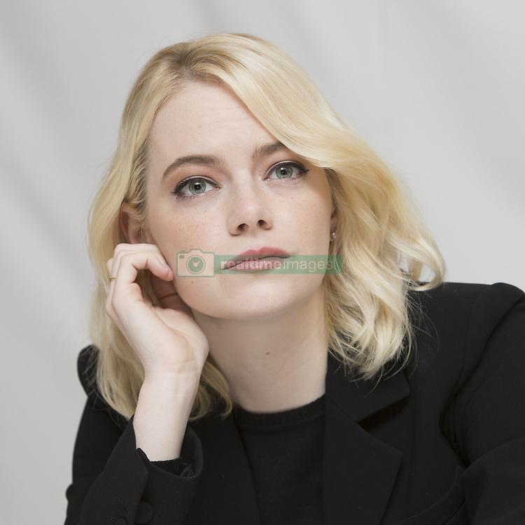 September 11, 2017 - Toronto, California, Canada - Emma Stone stars in the movie Battle of the Sexes (Credit Image: © Armando Gallo via ZUMA Studio)