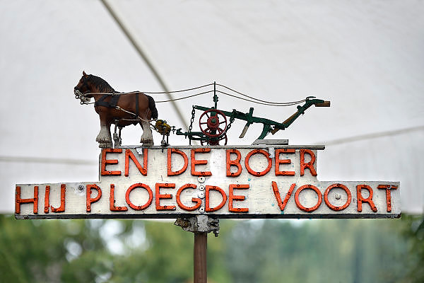 Nederland, Wijchen, 11-10-2014Paardenmarkt en boerenmarkt in Wijchen.FOTO: FLIP FRANSSEN/ HOLLANDSE HOOGTE
