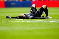 Kelle Roos of Derby County lies on the floor dejected after losing in the Sky Bet Championship Playoff Final - Mandatory by-line: Robbie Stephenson/JMP - 27/05/2019 - FOOTBALL - Wembley Stadium - London, England - Aston Villa v Derby County - Sky Bet Championship Play-off Final