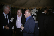 LORD HARRY DALMANY AND ANDREW ROBERTS, Tatler Summer party. Home House. Portman Sq. London. 27 June 2007.  -DO NOT ARCHIVE-© Copyright Photograph by Dafydd Jones. 248 Clapham Rd. London SW9 0PZ. Tel 0207 820 0771. www.dafjones.com.