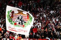 Supporters Monaco - 17.03.2015 - Monaco / Arsenal - 1/8Finale Retour Champions League<br /> Photo : Jean Christophe Magnenet / Icon Sport