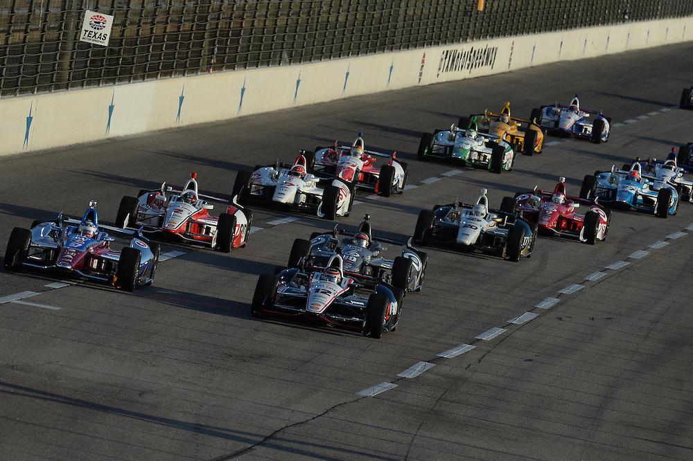 Will Power, Texas Motor Speedway, Ft. Worth, TX USA 6/7/2014