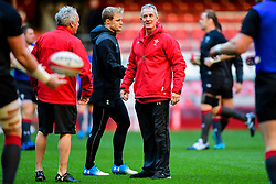 Rob Howley takes part in the training session - Photo mandatory by-line: Ryan Hiscott/JMP - 29/10/2018 - RUGBY - Principality Stadium - Cardiff, Wales - Autumn Series - Wales Rugby Open Training Session