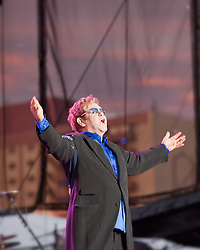 Elton John performs at Harrah's - South Lake Tahoe, CA 7/25/10