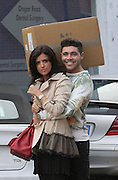 19.OCTOBER.2013. ESSEX<br /> <br /> CODE (MAG)<br /> LUCY MECKLENBURGH AND TOM PEARCE SEEN AT LUCYS BOUTIQUE IN BRENTWOOD ESSEX. TOM ARRIVED CARRYING A BOX OF CLOTHES FOR LUCYS SHOP WHILE LUCY OPENED UP FOR THE DAY.<br /> <br /> BYLINE: EDBIMAGEARCHIVE.CO.UK<br /> <br /> *THIS IMAGE IS STRICTLY FOR UK NEWSPAPERS AND MAGAZINES ONLY*<br /> *FOR WORLD WIDE SALES AND WEB USE PLEASE CONTACT EDBIMAGEARCHIVE - 0208 954 5968*