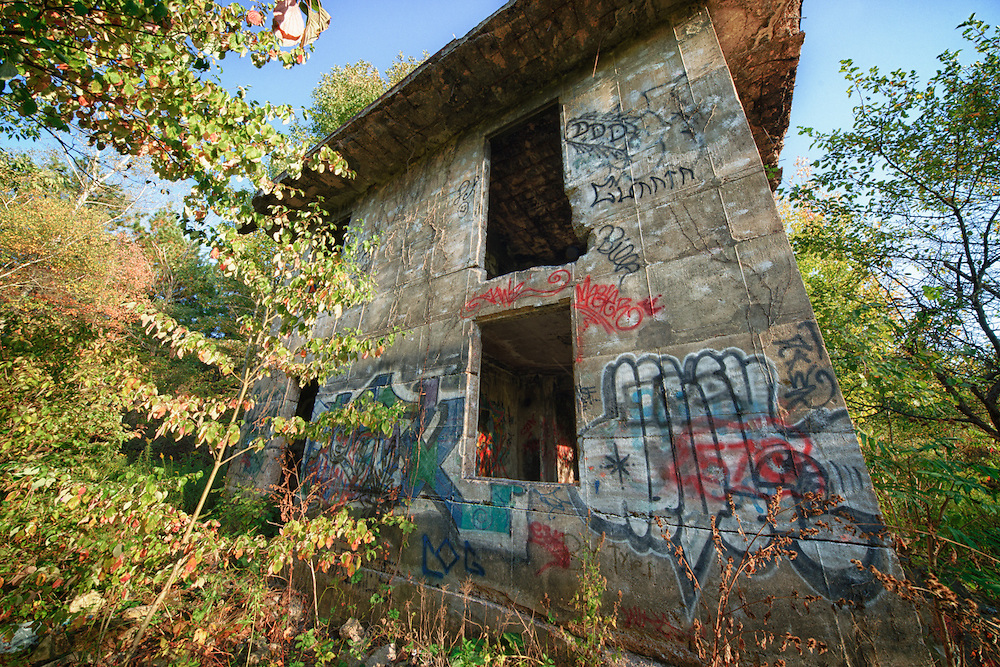 Abandoned building in Concrete City
