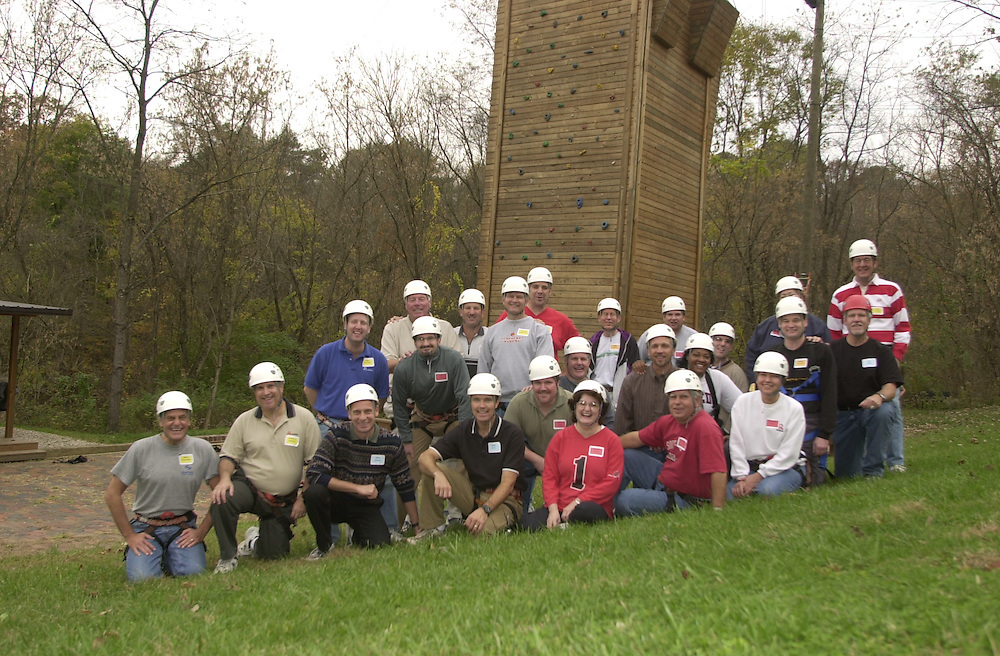 Ropes Course: Venture Group Photo at Ridges