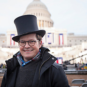 "Erik Laykin, from Los Angeles, CA, attended the Inauguration of Donald Trump as the 45th President of the United States, January 20, 2017.  When asked about his hopes for the Trump administration, he replied, ""my hope is that he can bring the county together [and] he's gotta be decisive..."" John Boal Photography"