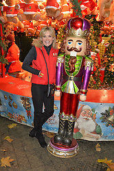 ANTHEA TURNER at the Hyde Park Winter Wonderland - VIP Preview Night, Hyde Park, London on 17th November 2016.