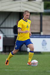 FLINT, WALES - Thursday, May 12, 2011: Sweden's Sebastian Starke Hedlund during the Men's Under-17's International Friendly match at Cae-y-Castell. (Photo by David Rawcliffe/Propaganda)