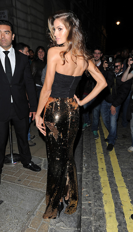 Brazilian Victoria's Secret model Izabel Goulart at the LFW AnOther Magazine party at Loulou's private members club in Mayfair, London, UK. 15/09/2014<br />BYLINE MUST READ : GOTCHAIMAGES.COM<br /><br />Copyright by &copy; Gotcha Images Ltd. All rights reserved.<br />Usage of this image is conditional upon the acceptance <br />of Gotcha Images Ltd, terms and conditions available at<br />www.gotchaimages.com