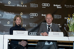 The organizers of the Rolex Grand Slam of Showjumping<br /> In the picture : Anky Van Grunsven, President Indoor Brabant, Marcel Hunze, Event Director Indoor Brabant<br /> Indoor Brabant - Den Bosch 2017<br /> &copy; Dirk Caremans<br /> 12/03/2017