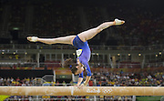 August 15, 2016 - Rio de Janeiro, RJ, Brazil - Isabela Onyshko - Canada, on the balance beam during women's individual balance beam final in artistic gymnastics at Olympic Arena. <br /> ©Exclusivepix Media