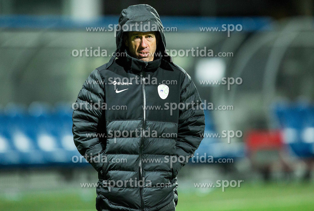 Srecko Katanec, head coach of Slovenia during friendly football match between National teams of Slovenia and FYR Macedonia, on March 23, 2016 in Stadium Bonifika, Koper/Capodistria, Slovenia. Photo by Vid Ponikvar / Sportida