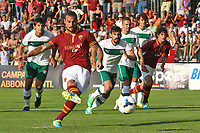OSVALDO GOL<br /> Riscone (Brunico) 21.7.2013 <br /> Football Calcio 2013/2014 Serie A<br /> Ritiro precampionato AS Roma <br /> As Roma pre season training<br /> Roma-Bursaspor Partita Amichevole Friendly Match<br /> Foto Gino Mancini / Insidefoto
