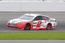 June 3, 2018 - Long Pond, PA, U.S. - LONG POND, PA - JUNE 03:  Brad Keselowski (2) in the  Wurth Ford drives during the Monster Energy NASCAR Cup Series - Pocono 400 on June 3, 2018 at Pocono Raceway in Long Pond, PA.  (Photo by Rich Graessle/Icon Sportswire) (Credit Image: © Rich Graessle/Icon SMI via ZUMA Press)