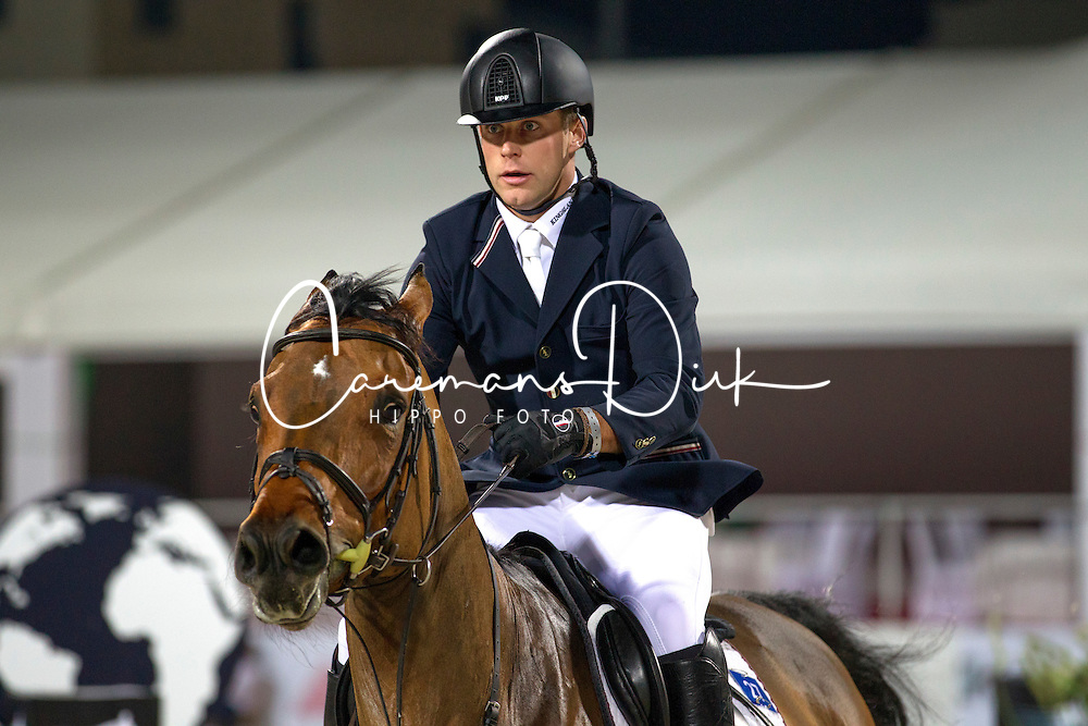 Ehning Johannes (GER) - Cayenne 162<br /> Final Global Champions Tour - Abu Dhabi 2012<br /> &copy; Hippo Foto - Cindy Voss