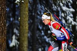 March 8, 2019 - –Stersund, Sweden - 190308 Justine Braisaz of France competes in the Women's 7.5 KM sprint during the IBU World Championships Biathlon on March 8, 2019 in Östersund..Photo: Petter Arvidson / BILDBYRÃ…N / kod PA / 92247 (Credit Image: © Petter Arvidson/Bildbyran via ZUMA Press)