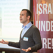 IDC Public Diplomacy Center Accelerator Conference at BU Hillel on September 14, 2014 in Boston, Massachusetts. (Photo by Elan Kawesch)