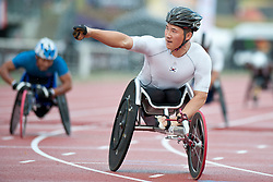 KIM Gyu Dae, KOR, 800m, T54, 2013 IPC Athletics World Championships, Lyon, France