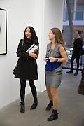 BECKY POOSTCHI; SOPHIE CLARK, Fashion Show: Robert Mapplethorpe. Alison Jacques Gallery. Berners St. London. 10 September 2013