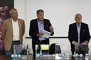 LEN Cup Waterpolo 2018 - Draw<br /> LEN Ligue Europeenne de Natation <br /> Centro Federale FIN - Italian Federation Training Centre Ostia - Rome Italia Italy<br /> Photo &copy; Giorgio Scala/Deepbluemedia/Insidefoto
