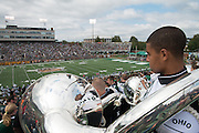 Marching 110 at the Homecoming 2013 football game. Photo by Ben Siegel
