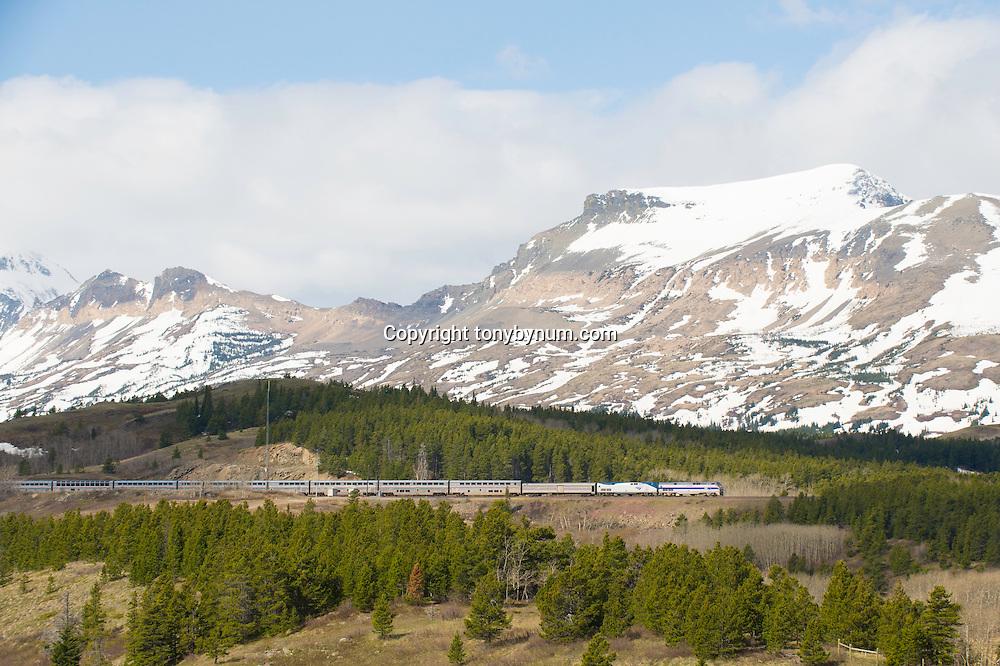 amtrak train empire builder glacier national park