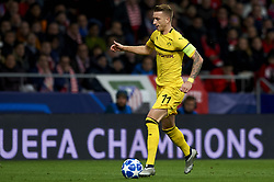 November 6, 2018 - Madrid, Spain - Marco Reus of Borussia Dortmund during the Group A match of the UEFA Champions League between Atletico de Madrid and Borussia Dortmund at Wanda Metropolitano Stadium, Madrid on November 06 of 2018. (Credit Image: © Jose Breton/NurPhoto via ZUMA Press)