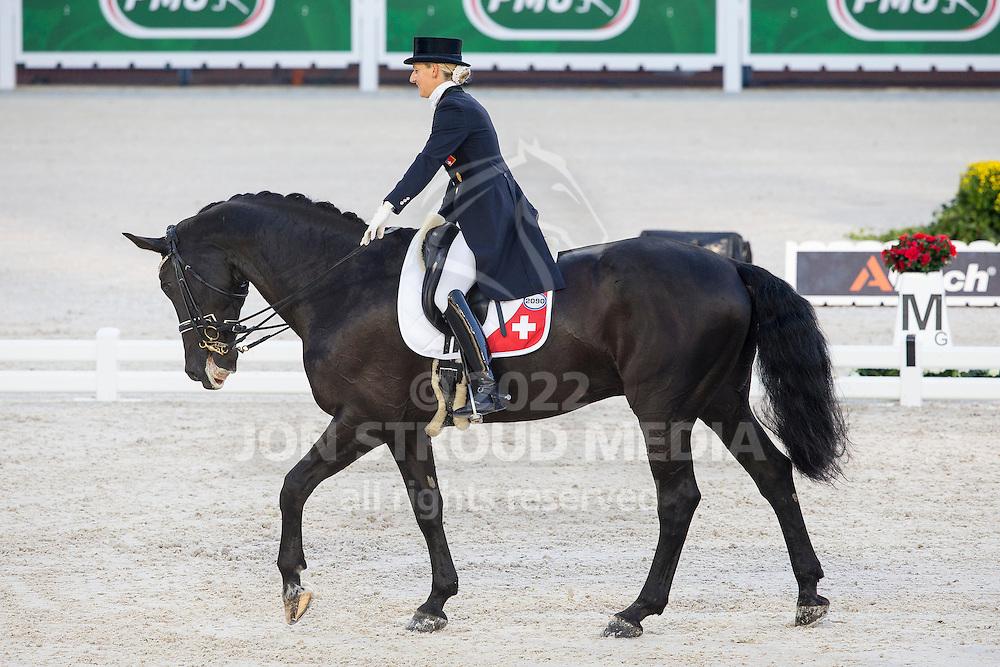 Melanie Hofmann, (SUI), Gb Cazzago C - Grand Prix Team Competition Dressage - Alltech FEI World Equestrian Games&trade; 2014 - Normandy, France.<br /> &copy; Hippo Foto Team - Leanjo de Koster<br /> 25/06/14