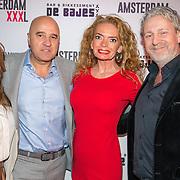 NLD/Amsterdam/20180320 - Presentatie 6de AmsterdamXXXL, John van den Heuvel, Patty Wakker en Mark Teurlings