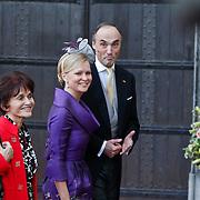 BEL/Brussel/20101120 - Huwelijk prinses Annemarie de Bourbon de Parme-Gualtherie van Weezel en bruidegom Carlos de Borbon de Parme, Lorenz, Aartshertog van Oostenrijk-Este en prinses Carolina