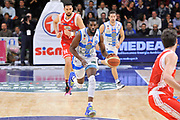 DESCRIZIONE : Campionato 2014/15 Dinamo Banco di Sardegna Sassari - Grissin Bon Reggio Emilia<br /> GIOCATORE : Shane Lawal<br /> CATEGORIA : Palleggio Contropiede<br /> SQUADRA : Dinamo Banco di Sardegna Sassari<br /> EVENTO : LegaBasket Serie A Beko 2014/2015<br /> GARA : Dinamo Banco di Sardegna Sassari - Grissin Bon Reggio Emilia<br /> DATA : 22/12/2014<br /> SPORT : Pallacanestro <br /> AUTORE : Agenzia Ciamillo-Castoria / Luigi Canu<br /> Galleria : LegaBasket Serie A Beko 2014/2015<br /> Fotonotizia : Campionato 2014/15 Dinamo Banco di Sardegna Sassari - Grissin Bon Reggio Emilia<br /> Predefinita :