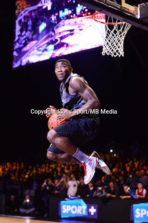 Billy Yakuba OUATTARA - concours de dunks  - 03.01.2015 - All Star Game -Paris - Zenith<br /> Photo : Dave Winter / Icon Sport