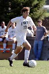 01 October 2006: Titan Paulo Michelini. The game remained scoreless until the 2nd overtime in which University of Dallas Crusaders Adam Lunger scored the Golden Goal to beat the Illinois Wesleyan Titans.  This game was played at Neis Field on the campus of Illinois Wesleyan University in Bloomington Illinois.