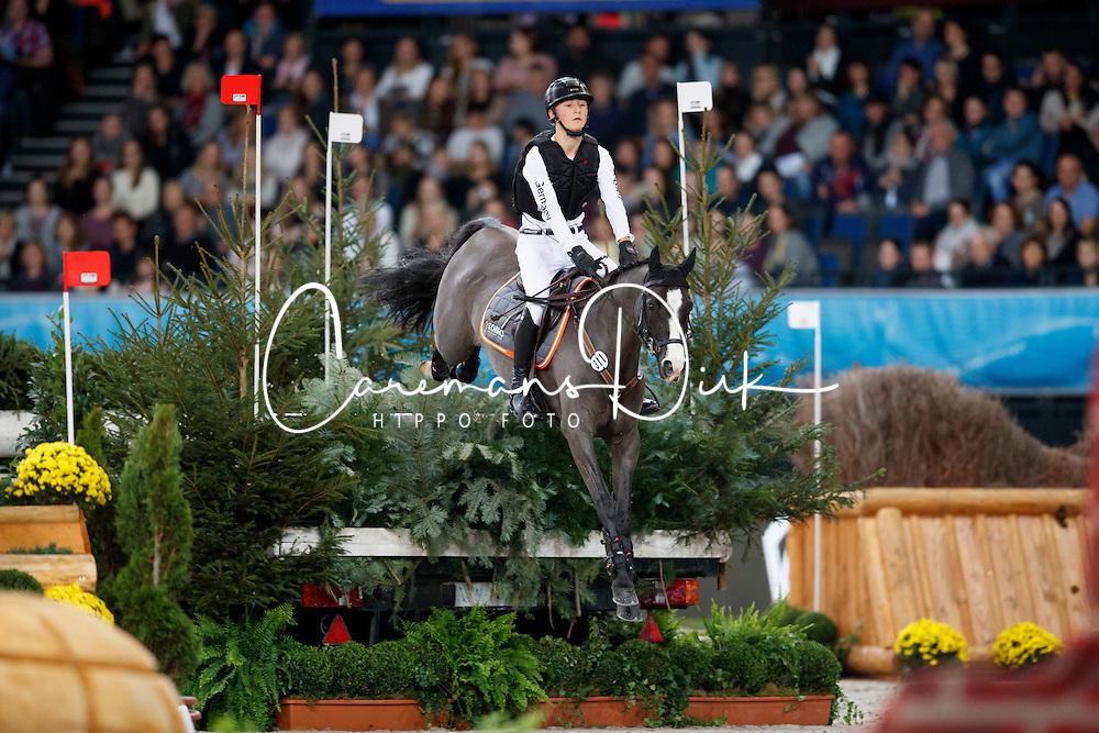 B&ouml;ckmann Calvin, GER, Camisse Nera<br /> Mercedes German Masters - Stuttgart 2016<br /> &copy; Hippo Foto - Stefan Lafrentz<br /> 16/11/16