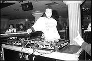Technics DJ Championships, UK. 1980s.