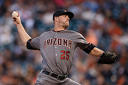 SAN FRANCISCO, CA - APRIL 18:  Archie Bradley #25 of the Arizona Diamondbacks pitches against the San Francisco Giants during the first inning at AT&T Park on April 18, 2016 in San Francisco, California.  (Photo by Jason O. Watson/Getty Images) *** Local Caption *** Archie Bradley