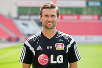 German Soccer Bundesliga - Photocall Bayer 04 Leverkusen on August 4th 2014: Assistant Coach  Daniel Niedzkowski.