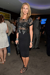 The UK Premier of Johnnie Walker Blue Label's 'Gentleman's Wager' - a short film starring Jude Law was held at The Bulgari Hotel & Residences, 171 Knightsbridge, London on 22nd July 2014.<br /> Picture Shows:-JOSEPHINE KIME.