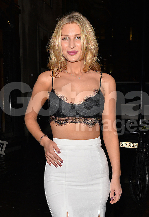 Olivia Newman-Young attends A Night With Nick annual charity fundraiser event, held at the Café Kaizen in London, UK. 04/12/2014<br />