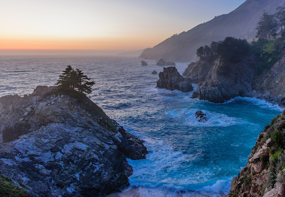 Julia Pfeiffer Burns State Park,  Big Sur, California