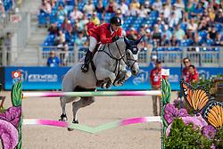 Ward Mclain, USA, Clinta<br /> World Equestrian Games - Tryon 2018<br /> © Hippo Foto - Dirk Caremans<br /> 23/09/2018